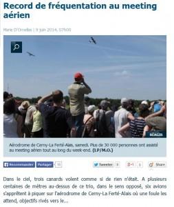 Source: Le Parisien 09/06/2014