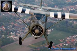 11: Stinson Reliant (prise de vue depuis le Skyvan)