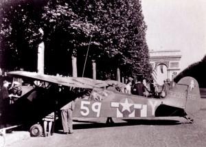 Paris, Avenue de la Grande Armée, août 1944