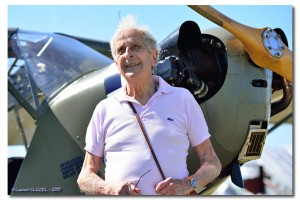 Maurice of Castex, Piper L - 4 pilot in 1944 (c) Laurent Cluzel
