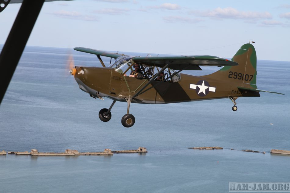 Stinson L-5 in Arromanches