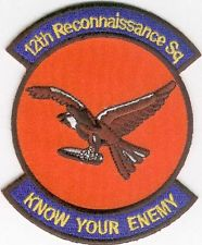 Insigne du 12th Tactical and Reconnaissance Squadron
