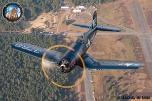 20: Corsair (prise de vue depuis le Skyvan)