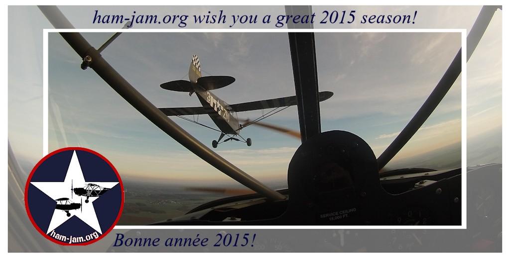 Voeux Ham and Jam 2015