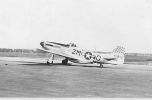 P51 Mustang of the 12th TRS